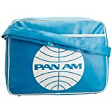 Logoshirt Unisex-Adult Pan AM Fake Landscape Format Messenger Bag