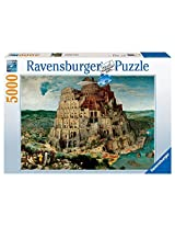 Ravensburger The Tower of Babel Puzzle (5000 Pieces), Multi Color