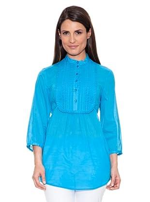 Caramelo Blusa Jaretas (Azul)