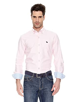 Toro Camisa Lisa Oxford (Rosa)