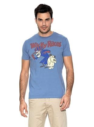 Springfield Camiseta Wacky Races (Azul Marino)