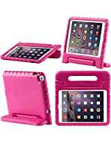 iPad Air 2 Case, i-Blason Apple iPad Air 2 Case for Kids [ArmorBox Kido Series] Light Weight Super Protection Convertable Stand Cover for iPad Air 2nd Generation 2014 Release (iPad Air 2, Pink)