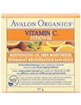 Avalon Organics - Vitamin C Renewal Rejuvenating Oil-Free Moisturizer - 2 oz. (Formerly Skin Nourishing Sun-Aging Defense)