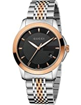 Gucci G Timeless Red Gold Pvd Ladies Watch Ya126410