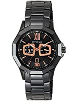 Titan Regalia Analog Black Dial Men's Watch - 90012ND01J