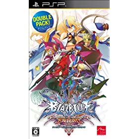 BLAZBLUE CONTINUUM SHIFT EXTEND �_�u���p�b�N
