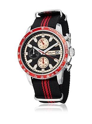 Stührling Uhr mit Japanischem Uhrwerk 678 schwarz 44 mm