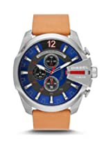 Diesel End of Season Chronograph Blue Dial Men's Watch - DZ4319
