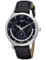Tissot Analog Black Dial Men's Watch - T063.637.16.057.00