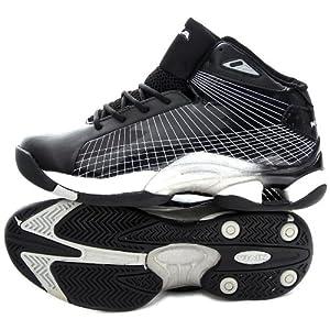 Nivia Warrior Basketball Shoes, Black 6