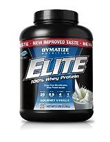 Dymatize Nutrition Elite Whey Protein Powder - 5.78 lbs (Gourmet Vanilla)
