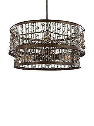 Feiss 6-Light Chandelier, Chestnut Bronze