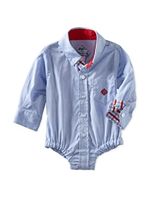 Andy & Evan Baby Boys Shirtzie (Blue Oxford)