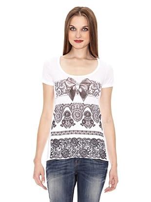 Fornarina T-Shirt Peace (Weiß)