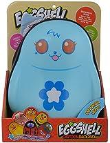 Comdaq Eggshell Cartoon School Backpack, Blue