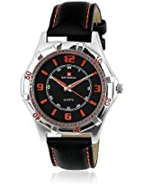 Baywatch Quartz Analogue BLACK/ORANGE Dial Men's Watch - G6786 BLACK-BLACK ORANGE