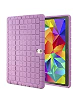 Samsung Galaxy Tab S 10.5 Case - Poetic Samsung Galaxy Tab S 10.5 Case GraphGRIP Series - Lightweight GRIP Protective Silicone Case for Samsung Galaxy Tab S 10.5 Lavender (3 Year Manufacturer Warranty From Poetic)