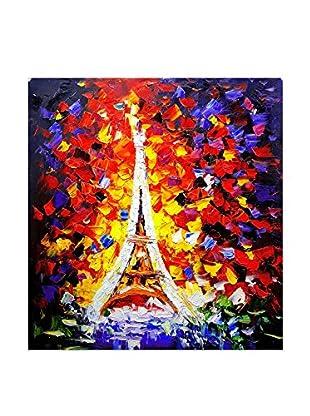 Legendarte Ölgemälde auf Leinwand Folli Notti A Parigi