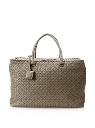 Bottega Veneta Women's Brick Bag, Shadow/Brunit