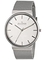 Skagen End-of-Season Ancher Analog Silver Dial Women's Watch - SKW2201