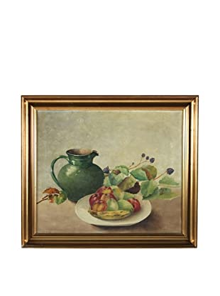 Pitcher & Fruit Framed Artwork
