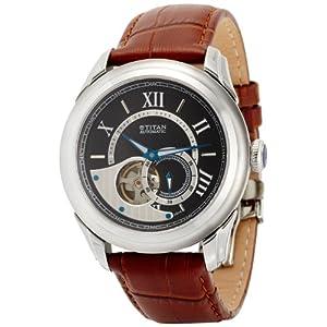 Titan Automatic Analog Black Dial Men's Watch - NC9430SL01J