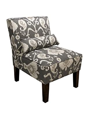 Skyline Armless Chair, Pewter