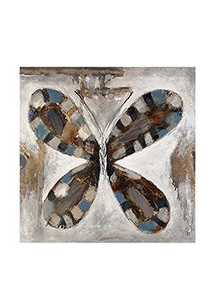 Arte dal Mondo  Wandbild Edgar Ramirez Farfalla