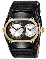 Marc Ecko Fashion Analog Gold Dial Men's Watch - E16513G1