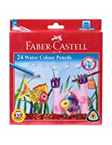 Faber - Castell Water Colour Pencils (Pack Of 24)