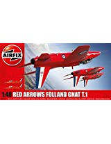 Airfix Red Arrows Gnat 1:48 Plastic Model Kit