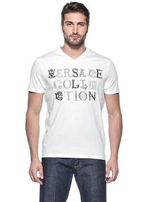 Versace Collection Camiseta Gaulterio (Blanco)