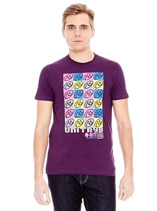 Unitryb Camiseta Manga Corta (Berenjena)