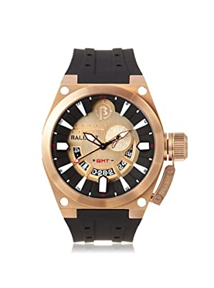 Ballast Men's BL-3108-09 Valiant Black/Rose Gold Stainless Steel Watch