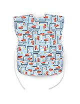 Bumkins Waterproof Short Sleeved Art Smock, Fire Engine
