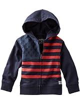 OshKosh B'gosh Baby Boys' Flag Hoodie (Baby) - Navy - 6 Months