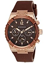 Giordano Analog Brown Dial Men's Watch - 1738-05