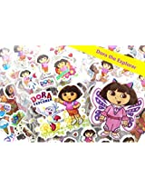 18 Sheets Love Dora The Explorer 3 D Puffy Stickers