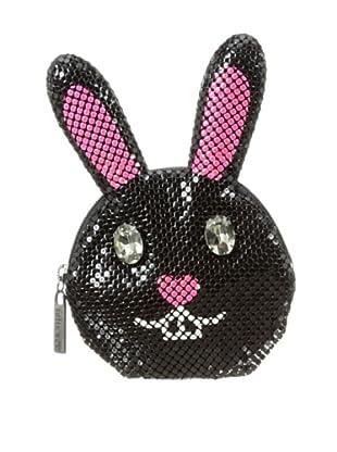 Felix Rey Women's Bunny Coin Purse, Black