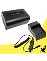 Halcyon 1300 mAH Lithium Ion Replacement Battery and Charger Kit for Sony NEXVG10 NEXVG20 NEXVG30 NEXVG900 Handycams & Sony DCR-SR68 DCR-SX45 DCR-SX65 DCR-SX85 HDR-CX130 HDR-CX190 HDR-CX200 HDR-CX210 HDR-CX220 HDR-CX230 HDR-CX250 HDR-CX260 HDR-CX290 HDR-CX380 HDR-CX430 HDR-CX580 HDR-CX760 HDR-PJ200 HDR-PJ230 HDR-PJ260 HDR-PJ380 HDR-PJ430 HDR-PJ580 HDR-PJ650 HDR-PJ710