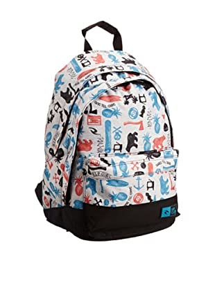 Rip Curl Mochila Double Dome Pictos (Gris)