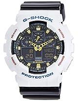 Casio G-Shock Analog-Digital Black Dial Men's Watch - GA-100CS-7ADR (G533)