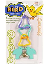 Taiyo Pluss Discovery 3 Bell Rings With Twin Birds And Bell For Birds