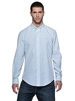 Timberland Camisa Meriden (Blanco/Celeste)