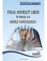 Stilul indirect liber in proza lui Vasile Voiculescu