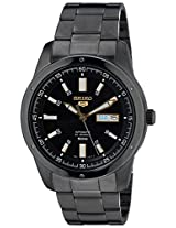Seiko 5 Analog Black Dial Men's Watch - SNKN17K1