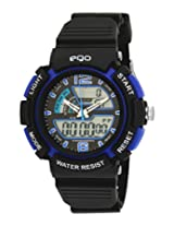 Maxima Ego Analog-Digital Multi-Color Dial Unisex Watch - E-33220PPAN