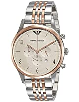 Emporio Armani Analog Gunmetal Dial Men's Watch - AR1864
