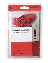 E Xuby Killer Red Bluetooth Wireless Controller Compatible With Sony Ps3 And Playstation 3 (6 Axis And Dual Vibration)
