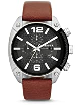 Diesel Overflow Chronograph Leather Mens Watch Dz4296